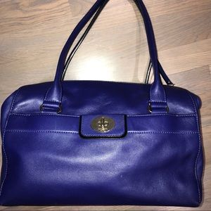 💟💼Kate Spade ♠️ Doctor Style Bag.Cobalt Blue